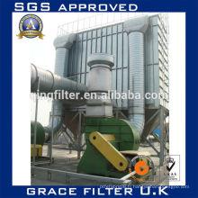 Système de collecte des poussières du filtre à sac