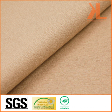 Polyester Wide Width Inherently Fire Retardant Brown Woven Fireproof Curtain