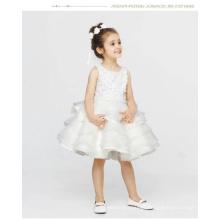 a Girl Flower Wedding Dress