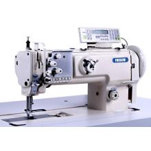 Single needle compound feed sofa and car seat sewing machine