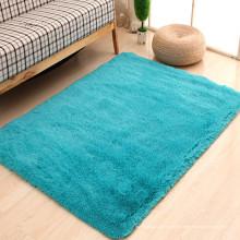 blaue Läufer Dekoration Teppich Fransen zum Verkauf