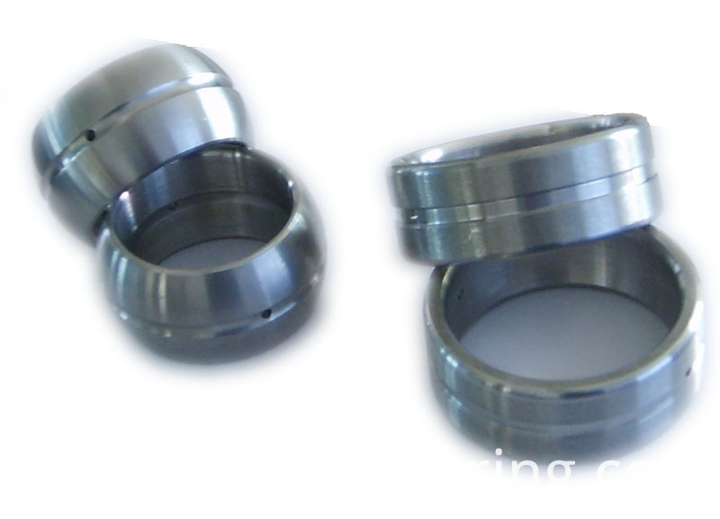 Knuckle bearing rings with bearing steel
