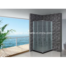 Acid Glass Simple Shower Room Enclosure (EM-706 without tray)