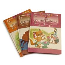 Hochwertiges professionelles kundenspezifisches Kinderbuch Hardvover Buchdruck