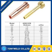 Hochwertige 6290VVCM Kupfer / Messing Gas Schneiddüse