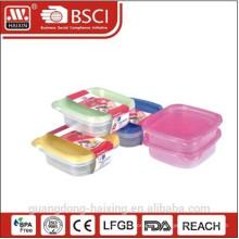 Carré de plastique alimentaire contenant 0.9L(2pcs)