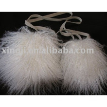 Bolso de piel de cordero de Mongolia