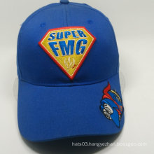 royal 3D and flat embroidery fancy baseball cap