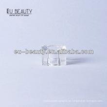 Transparente surlyn quadratische Flaschenkappe