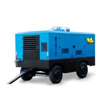 Heavy Duty Portable Tire Screw Air Compressor Diesel Air Compressor with Mining Diesel Engine