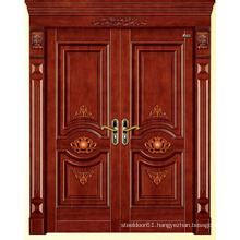 Fancy entry door garage door wood garage door