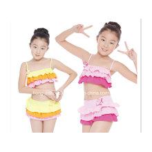 Zwei Stücke nette flump Mädchen-Art- und Weisebadebekleidung
