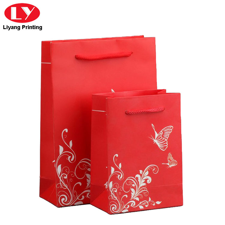 Red Wedding Gift Bag