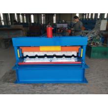 Máquina para fabricar láminas de acero revestidas de color