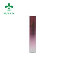 Caixa de papel pequena de embalagem cosmética personalizada com impressão do logotipo