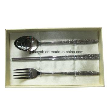 Stylish Titanium Cookware Set with Bone China