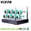 CCTV 8ch NVR Wireless 1080p Ip Camera Kit Night Vision