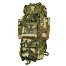 Tactical Military Backpack with Metal Frame ISO Standard