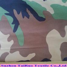 Taslon impresso camuflagem com o plutônio revestido para o tecido do Sportswear