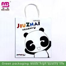 Weiße Kraftpapiersäcke des Modedesigns für Tee