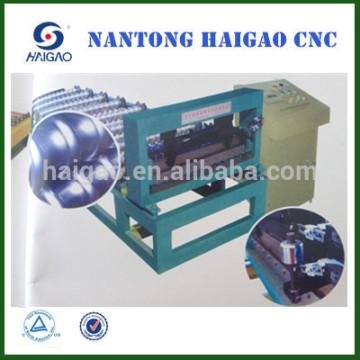 Hoja de techo corrugado que hace la máquina / hoja de hierro que hace la máquina