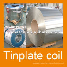 JIS G3003 prime tinplate MR, 2.8/2.8 for metal can production