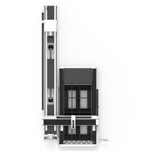 Máquina de láser de acero al carbono de 10 mm de corte de oxígeno de Bodor