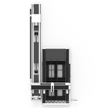 Machine laser laser Bodor coupe oxygène 10mm en acier au carbone