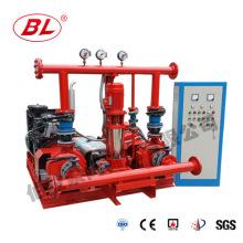Водоснабжение противопожарное с дизельным и электрическим и жокей насос