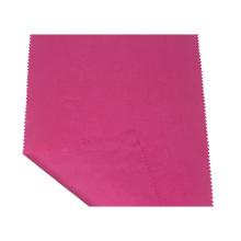 Tissu tencel sergé rouge imperméable pour veste femme