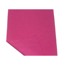 Tela tencel de sarga roja impermeable para chaqueta de mujer