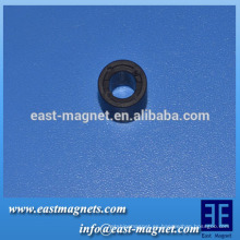 Personalizado 10.2-5.3-8.8 anillo magnético multipolar / imán de ferrita Múltiples polos anillo del motor