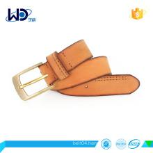 alloy buckle cowhide leather fashion men belt