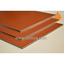 High Gloss Glossy Color Aluminium Signage Material for Advertisement