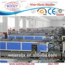 wood plastic composite fence railing profile wpc decking whole production line