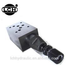 hydraulic modular valve block pressure reducing valve
