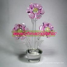 Crystal Flower Home or Wedding Decoration (DW-017)