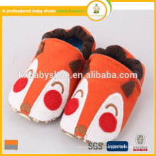 Fabricant 2015 best seller lovely animal pattern coton tissu cheap children winter shoes