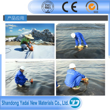 PVC Geomembrane Smooth Geomembrane Textured Geomembrane Fish Pond Liner Roll