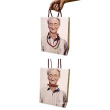 Printed Color Paper Bag Shopping Gift Bag