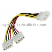 Câble d'alimentation à 4 broches Câble d'extension Splitter d'alimentation
