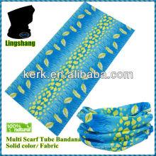 100% Polyester Promotional Hot Sale fashion magic seamless multifunctional tube Face mask bandana mask,LSB01