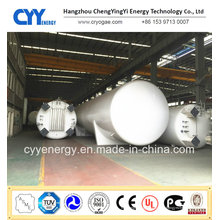 Chemische Lagerausrüstung Flüssiger Sauerstoff Stickstoff Argon Kohlendioxid Lagertank