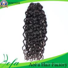 Trama sin procesar del pelo de la Virgen de Remy del cabello humano del precio de fábrica