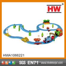 BO Cartoon ferroviário ferroviário conjunto slot brinquedo