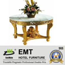 Gloden Honourable Style Carving Wooden Flower Desk (EMT-FD04)