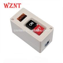 30A 3.7kw Interrupteur à bouton-poussoir à 3 positions Interrupteur à pied à bouton-poussoir