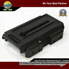 CNC-Bearbeitung Teile Montage Schiebetisch mit 7075-T6 schwarz eloxiert
