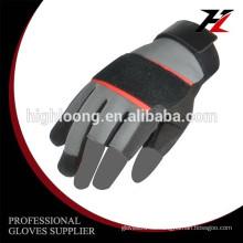 10G Polyester Palme Beschichtung Latex Crinkle dünnen billig mechanischen Sicherheitshandschuh