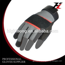10G полиэстер пальмовое покрытие латексная морщина тонкая дешевая механическая перчатка безопасности